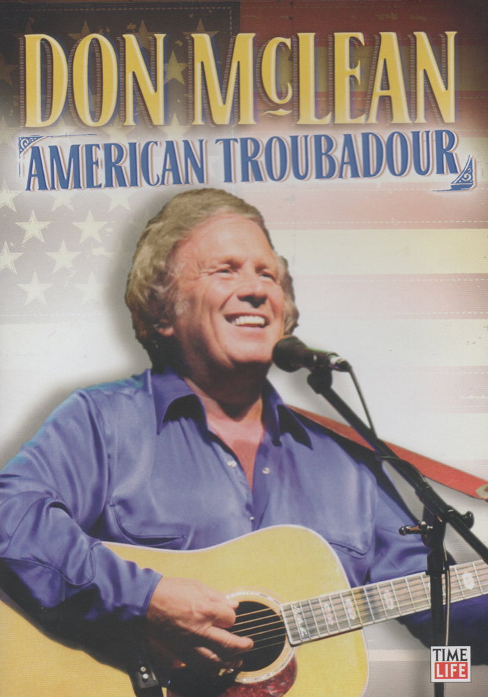 Don McLean: American Troubadour cover jim brown productions