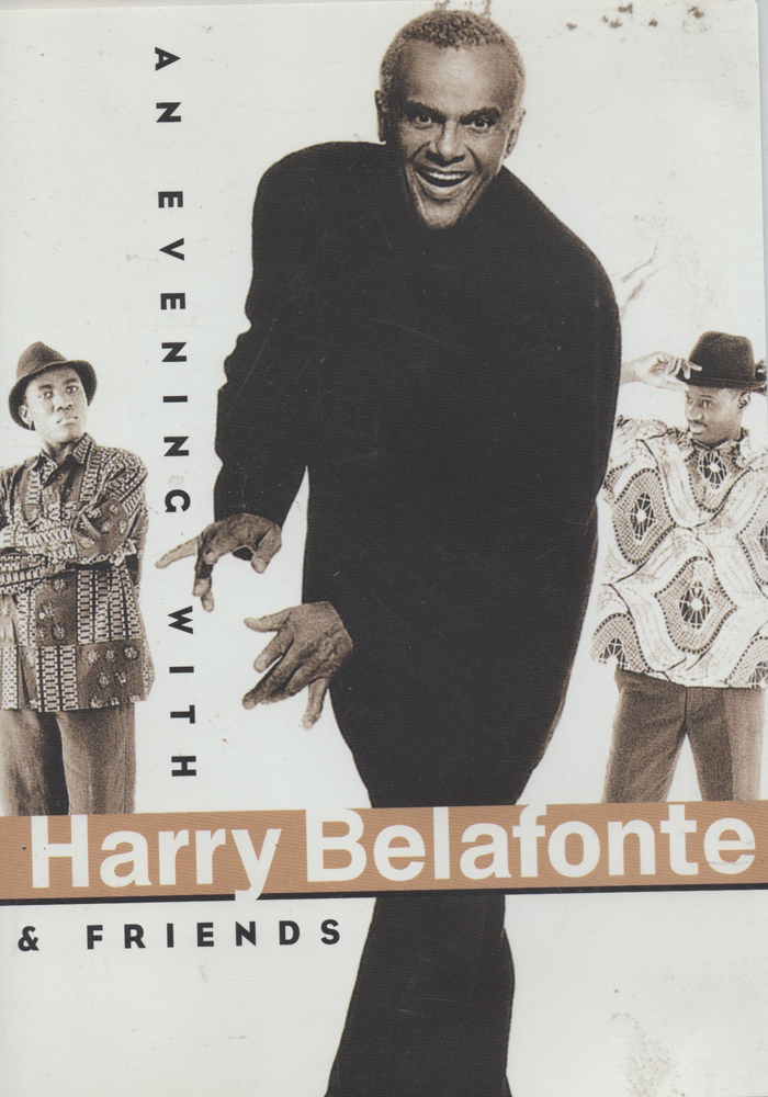An Evening with Harry Belafonte and Friends cover jim brown productions