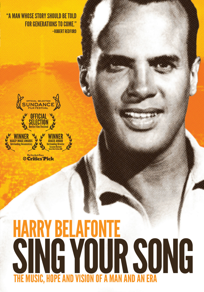 Harry Belafonte: Sing Your Song cover jim brown productions
