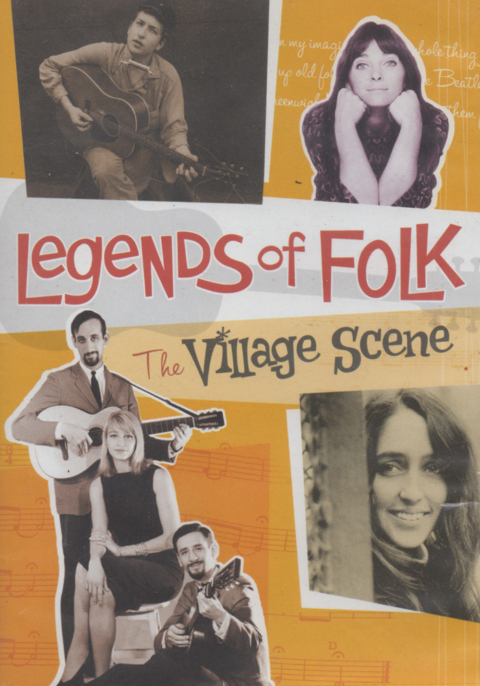 Legends of Folk - The Village Scene cover jim brown productions