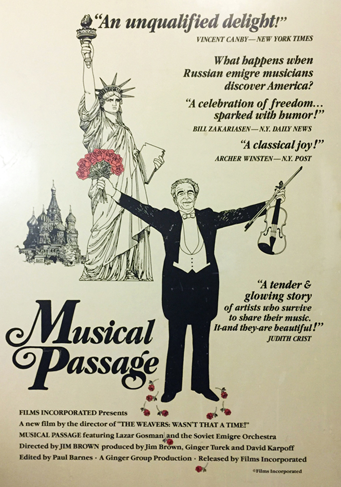 Musical Passage cover jim brown productions