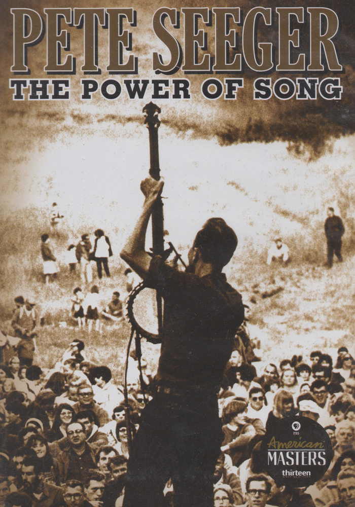 Pete Seger: The Power of Song cover jim brown productions
