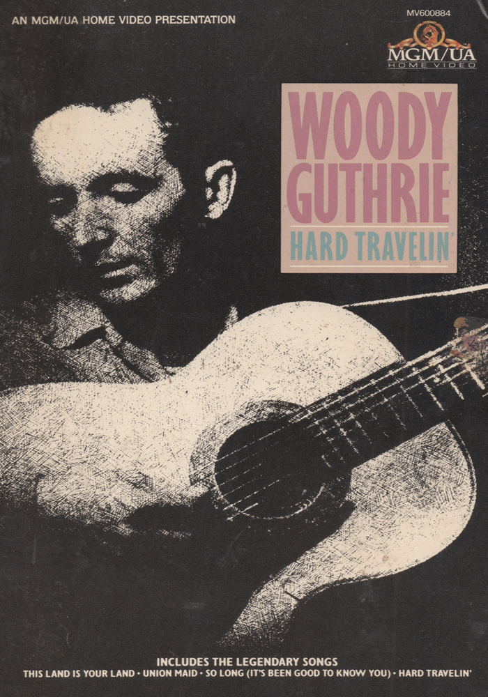 Woody Guthrie - Hard Travelin' cover jim brown productions